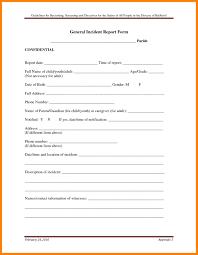 Download Best S Of Medical Fice Incident Report Form Activetraining Me