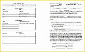 Free Promissory Note Template Word Of Free Promissory Note