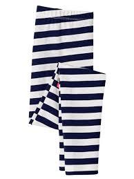 Cat And Jack Shoe Size Chart Cat Jack Cat Jack Girls White Navy Blue Stripe Leggings Knit Pants Walmart Com