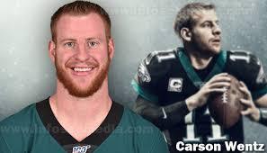 No, carson wentz didn't get a tattoo sleeve. Carson Wentz Bio Family Net Worth Celebrities Infoseemedia