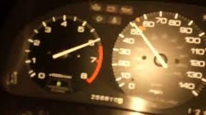 91 Accord Wagon CB9 F22A1 Redline 2nd Gear - YouTube
