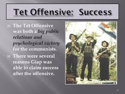 the tet offensive the term tet offensive usually refers to the 30 tet offensive success