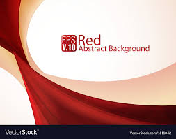 red abstract background vector. Red Abstract Background Vector Image Inside VectorStock