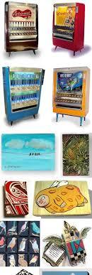 Artomatic Vending Machine Enchanting Artomat Retired Cigarette Vending Machines Converted To Sell Art