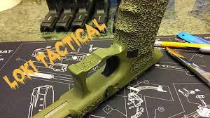 unboxing custom glock 19 frame you