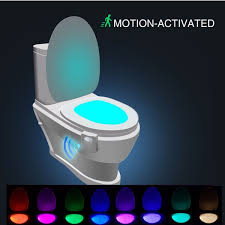 Toilet Bowl Light Uk Mums Rave About Amazons 6 Colour Changing Toilet Light For