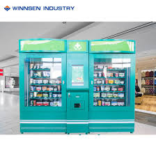 Vending Machine Advertising Classy China Mini Hospital Double Pharmacy Vending Machine With Advertising