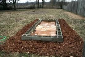cinder block flower bed how to build a raised bed with concrete blocks concrete block raised