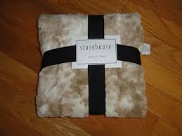Storehouse Throw Blankets