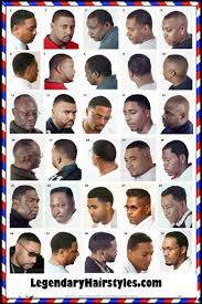 Barber Hairstyles Chart Barbershop Poster In 2019 Black Hair Salons Haircuts For