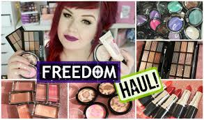 freedom makeup london haul