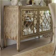 wood and mirrored furniture. sanctuary two door mirrored console by hooker furniture alison wood and o
