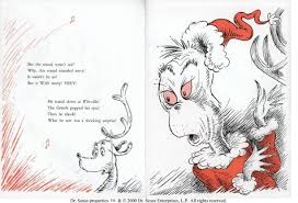 how the grinch stole christmas book. Beautiful Christmas How The Grinch Stole Christmas Classic Seuss  Image 1  Inside Book E