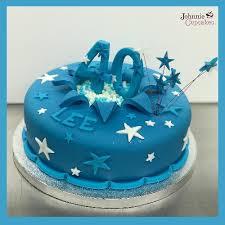 40th Birthday Cake Stars Johnnie Cupcakes
