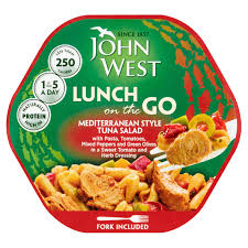John West Mediterranean Tuna Light Lunch John West Light Lunch Mediterranean Style Tuna Salad 220g