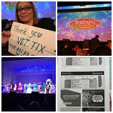 kenneth attended rudolph the red nose reindeer the al on dec 14th 2016 via vettix thank you to vet tix and msg