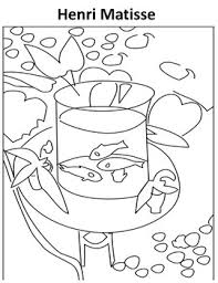 Matisse Coloring Page Worksheets Teaching Resources Tpt