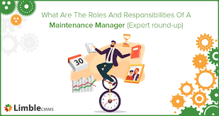 a maintenance manager