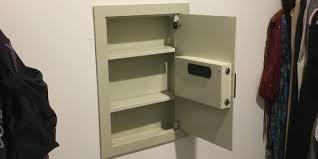 wall safe installation