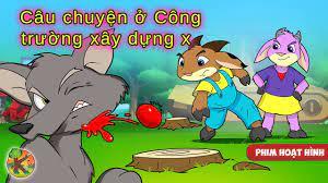 Chó sói và bảy chú dê con - Câu chuyện ở Công trường xây dựng | KONDOSAN  Vietnamese - Truyện cổ tích - YouTube
