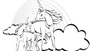 Unicorn Rainbow Coloring Pages Rainbow Dash Coloring Pages To Print Rainbow Coloring Page Printable