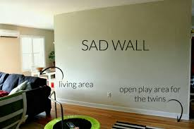 large blank wall ideas walls best of living room