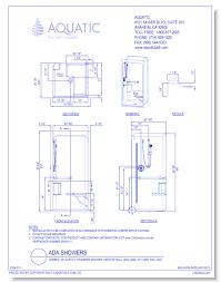 cad drawings aquatic 3636s 36 acrylic transfer shower smooth wall ada