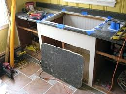 how to cut countertop when cutting a sink hole opening in laminate support from underneath cut how to cut countertop