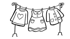 Bộ sưu tập tranh tô màu quần áo cho bé trai và bé gái tập tô màu trong 2021