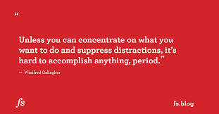 Winifred Gallagher On Living a Focused Life