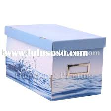 Cardboard Storage Box Decorative Cardboard Photo Storage Boxes Cardboard Storage Box Count 100 Piece 69