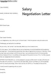 salary counteroffer letter counter offer letter examples job salary example the sample