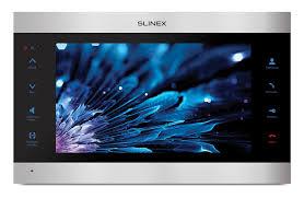 <b>Slinex SL</b>-<b>10IPT</b> (Silver+Black) Монитор <b>видеодомофона</b> с памятью