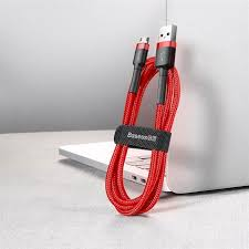<b>Baseus cafule</b> Cable USB For Type-C 2A 2M Red+Red