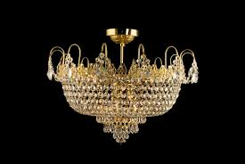 9 light crystal ceiling chandelier in brass tl 310 000 009