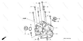 trx400ex engine head diagram wiring diagrams favorites honda atv 2001 oem parts diagram for cylinder head cover partzilla com trx400ex engine head diagram