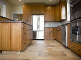 kitchen awesome porcelain kitchen floor tile in catalina pattern with wooden cabinet and island