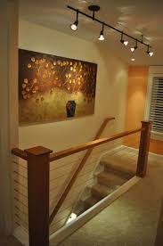 home track lighting. Stairway In The House With Track Lighting Home C