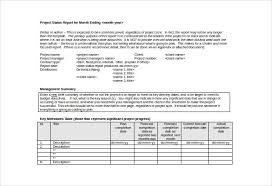 project weekly report format monthly management report template 38 free word excel documents
