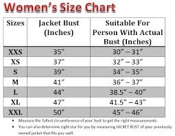 leather jacket size chart caprice womens genuine leather bomber jacket urban leather store
