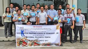 toyota recognizes educators on world teachers day