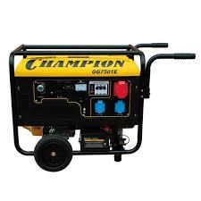 <b>Бензиновый генератор Champion GG7501E</b> — купить в Москве ...