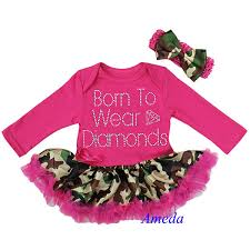 Baby Girl Camo Clothes