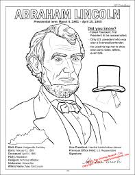 Small Picture Best Abraham Lincoln Coloring Pages 37 For Coloring Site with