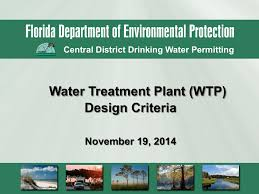 Water Treatment Plant Design Water Treatment Plant Wtp Design Criteria