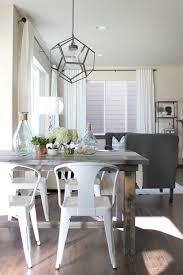 garage outstanding metal dining room sets 8 dazzling 25 chair beautiful round farmhouse table and