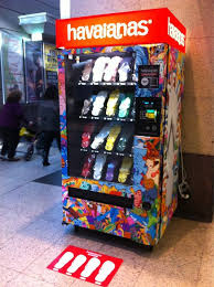 Havaianas Vending Machine Locations