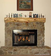 cool cedar log fireplace mantel shelf with faux stone fireplace surround also fireplace hearth