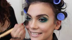 Emerald Smokey Eye Makeup For Black Dress Youtube