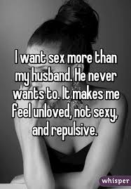 Why do husbands not want sex